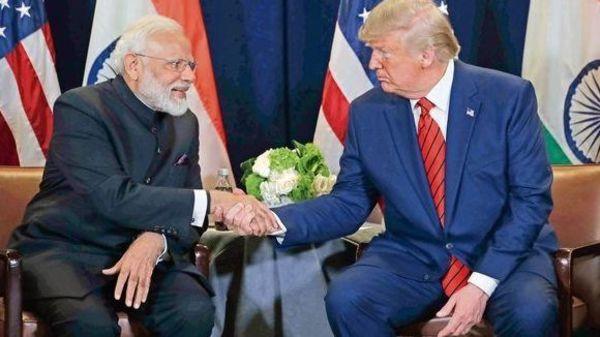 PM Narendra Modi and President Donald Trump (File Photo). Photo by Livemint.
