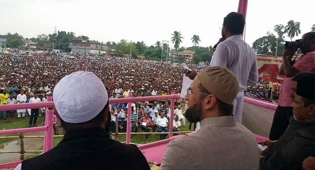 AIMIM is turning into haven for such Muslim leaders who are eager to vent their frustration and grievances against the secular outfits. (Photo Courtesy: India Tomorrow)