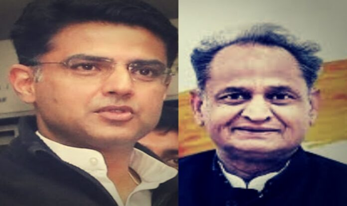 The power struggle between Rajasthan CM Ashok Gehlot (right) and his Deputy Sachin Pilot (left) has put state's Congress government in the crisis.