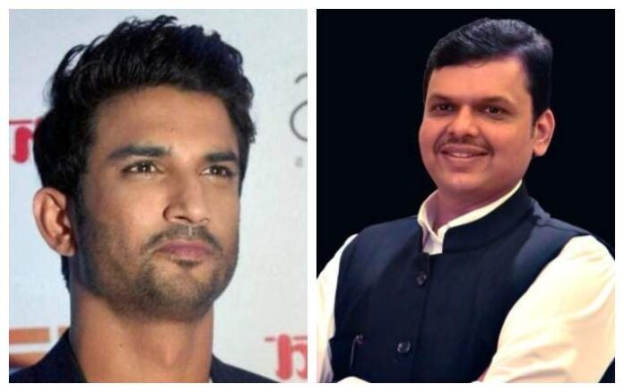 Former Maharashtra chief minister and BJP in-charge for Bihar election, Devendra Fadnavis, on Friday said that the death of Sushant Singh Rajput really raised suspicion and his party only wanted free and fair investigation into the matter. (File photo, Image courtesy: PTI/ Twitter)