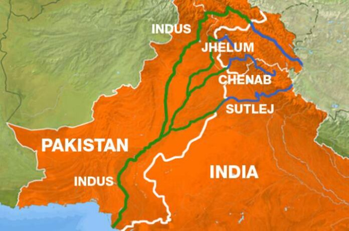 Indus Water Treaty, an agreement over the sharing of water of six rivers between India and Pakistan, turns 60 (Map credit: ClearIAS)