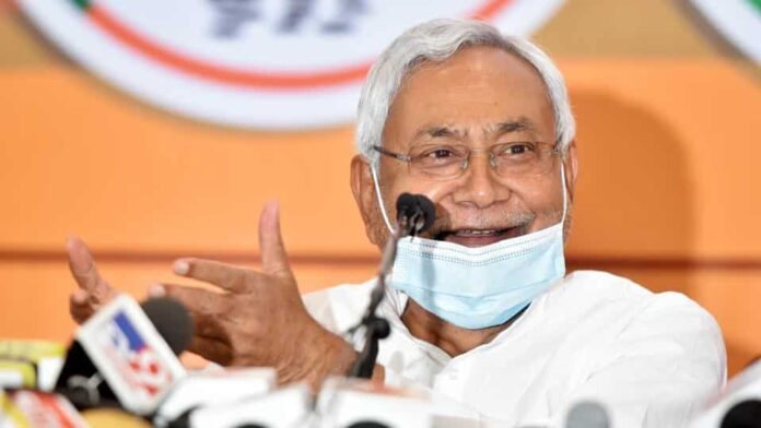 Bihar chief minister Nitish Kumar addressed first physical rally in Banka (File photo, lmage courtesy: Parwaz Khan/ Hindustantimes)