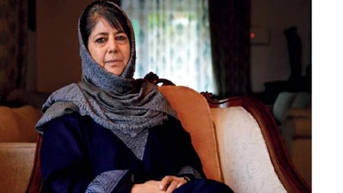 Former Jammu and Kashmir chief minister Mehbooba Mufti (File Photo, Image credit: India Today)