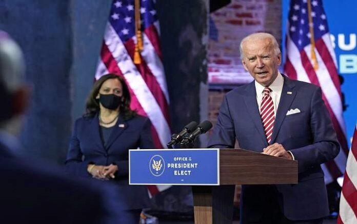 US President-elect Joe Biden (R) and Kamala Harris (File Photo, Image credit: NBC News )