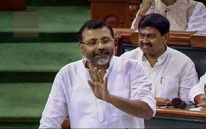 Bharatiya Janata Party MP from Godda, Nishikant Dubey (Image credit: The New Indian Express)