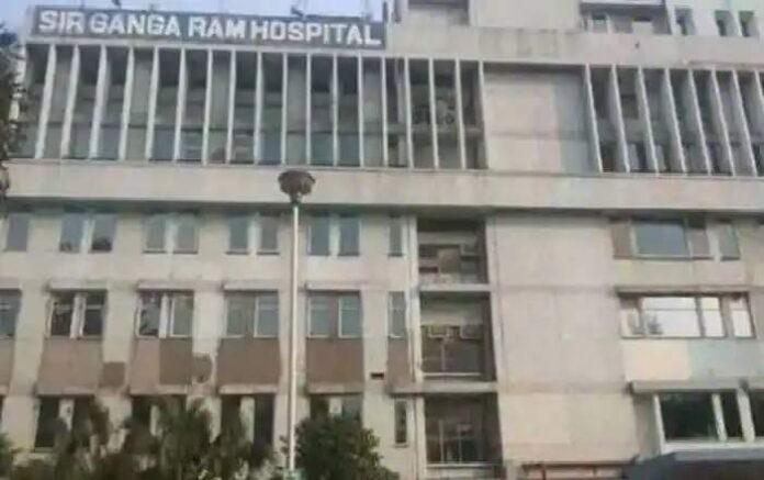 File Photo of Sir Ganga Ram Hospital in Delhi (Image credit: Zee News)