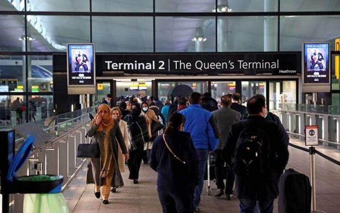 File photo of The Queen's Terminal inside Heathrow Airport (Image credit: DNA India)