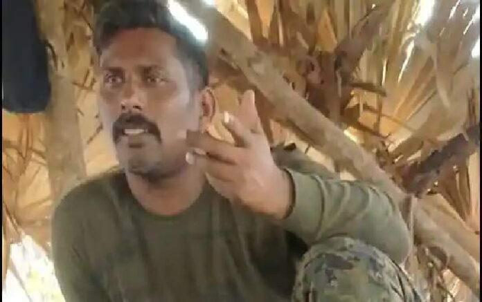 Rakeshwar Singh Minhas, the CRPF commando made hostage by the Maoists (Image credit: Hindustan Times)