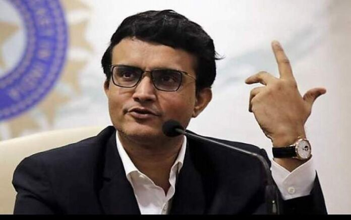 BCCI President Saurav Ganguly (Image credit: The New Indian Express)