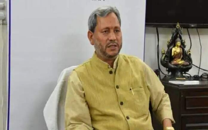 Uttarakhand chief minister Tirath Singh Rawat (Image credit: Zee News)