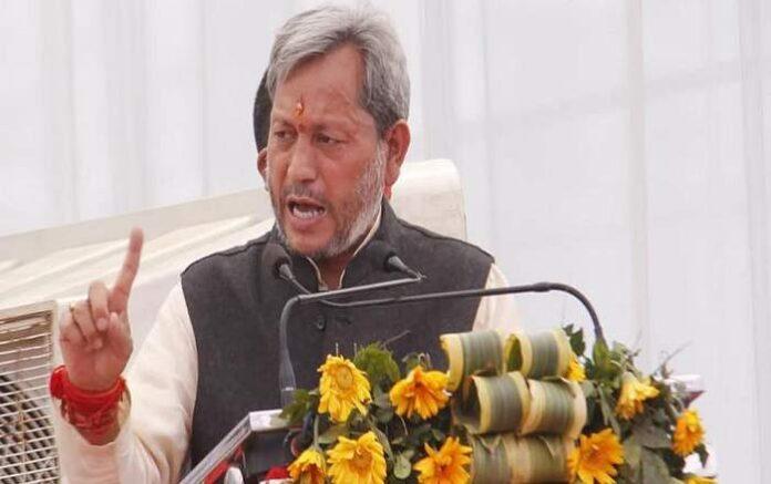 Uttarakhand chief minister Tirath Singh Rawat (Image credit: Scroll.in)