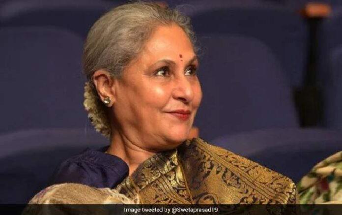 Noted film star Jaya Bachchan (Image credit: NDTV)Noted film star Jaya Bachchan (Image credit: NDTV)