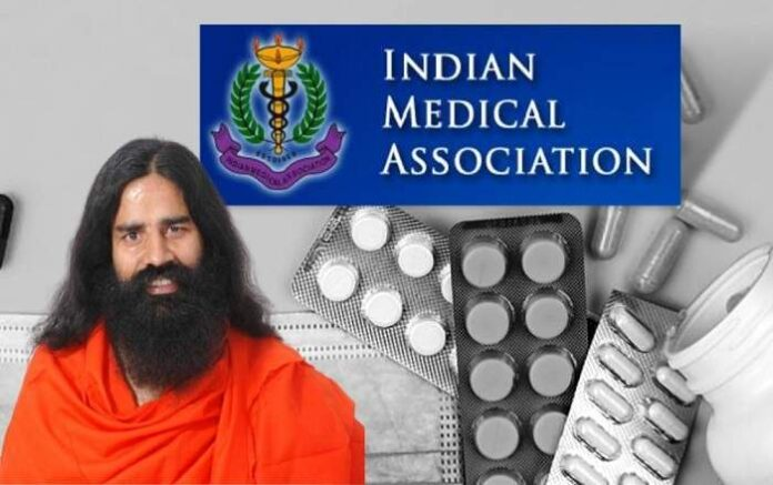 Baba Ramdev claimed that allopathic mode of treatment had killed lakhs of COVID-19 patients (Image credit: The Logical Indian)