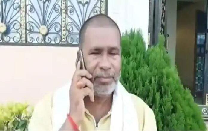 BJP MLC Tunnajee Pandey (Image credit: ABP News)