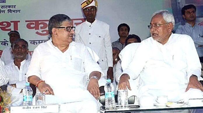 JDU appointed Lallan Singh as president. (file photo: Image credit: Saran First)